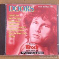 CDs de Música: DOORS - LIVE IN STOCKHOLM 1968 (CD 1991). Lote 57342474