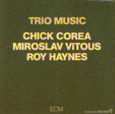 CDs de Música: DOBLE CD ALBUM: TRIO MUSIC - CHICK COREA, M. VITOUS, ROY HAYNES - 15 TRACKS - ECM 1982. Lote 57377541