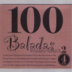 CDs de Música: 100 BALADAS ROMÁNTICAS VOL. 2 (4 CD 2003, SEND MUSIC 04.015). Lote 57388571