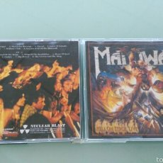CDs de Música: MANOWAR DOBLE CD HELL ON STAGE LIVE.1999. Lote 57421622