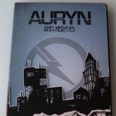 CDs de Música: AURYN - ANTI-HEROES FAN EDITION (DOBLE CD CON LIBRETO WEA 2013). Lote 57440166