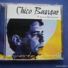 CDs de Música: CHICO BUARTE ACUARELA DO BRASIL 16 GRANDES EXITOS CD ALBUM 2003. Lote 57442879