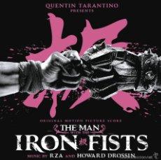 CDs de Música: EL HOMBRE DE LOS PUÑOS DE HIERRO (B.S.O) * CD * QUENTIN TARANTINO * THE MAN IRON FISTS * PRECINTADO. Lote 57445905