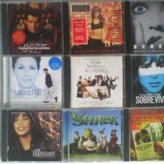 CDs de Música: LOTE 9 CDS BANDAS SONORAS ORIGINALES. Lote 57470351