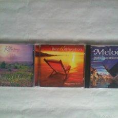 CDs de Música: LOTE 3 CDS MÚSICA RELAJACIÓN. Lote 57470668