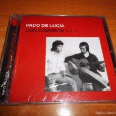 CDs de Música: PACO DE LUCIA CON CAMARON VOL 1 CD ALBUM PRECINTADO DEL AÑO 2005 CONTIENE 12 TEMAS. Lote 57471030