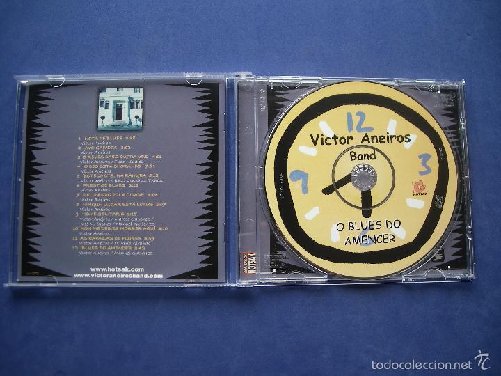 CDs de Música: VICTOR ANEIROS BAND O BLUES DO AMENCER CD ALBUM pepeto - Foto 2 - 57477726
