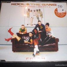 CDs de Música: KOOL & THE GANG FEATURING LIBERTY X FRESH CD MAXI SINGLE 2004. Lote 57479010