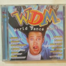 CDs de Música: WDM WORLD DANCE MUSIC - 2 CDS. Lote 57484067