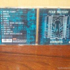 CDs de Música: FEAR FACTORY - DIGIMORTAL - CD. Lote 222255872