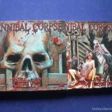 CDs de Música: DIGIPACK CD + DVD CANNIBAL CORPSE - THE WRETCHED SPAWN - METALBLADE-2004-INCLUYE MAKING OF. Lote 57535517