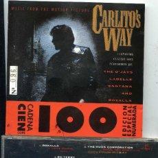 CDs de Música: CARLITO'S WAY (BANDA SONORA) CD EDICION ESPECIAL NUMERADA CADENA 100 Nº 096. Lote 57546747
