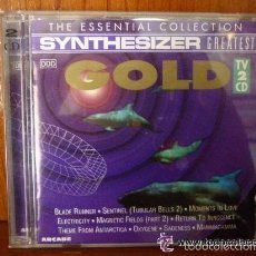 CDs de Música: SYNTHESIZER GREATEST GOLD 2 CD´S *IMPECABLE*. Lote 57551093