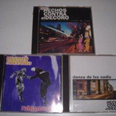 CDs de Música: HECHOS CONTRA EL DECORO CD. Lote 57553790