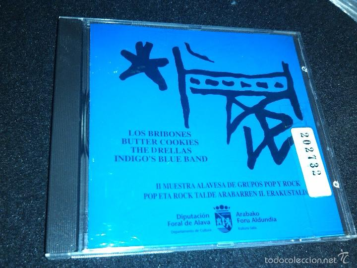 II MUESTRA ALAVESA DE GRUPOS POP Y ROCK POP ETA ROCK TALDE ARABARREN II ERAKUSTALDIA CD ALBUM 1994 (Música - CD's Rock)