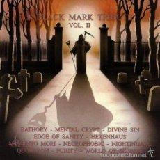 CDs de Música: VARIOUS-BLACK MARK TRIBUTE II CD. Lote 57580749