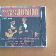 CDs de Música: CD NUEVO PRECINTADO MAESTROS DEL CANTE JONDO MANOLO CARACOL NIÑA DE LOS PEINES PEPE PINTO VALDERRAMA. Lote 57590299
