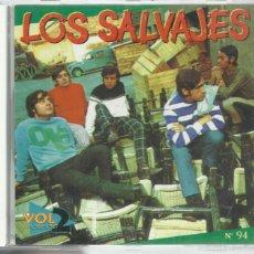 CDs de Música: SALVAJES - VOL. 2 (1966-1967) - CD EL COCODRILO 1993. Lote 57602580