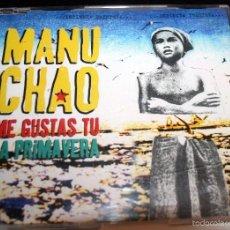 CDs de Música: MANU CHAO ME GUSTAS TU LA PRIMAVERA CDSG.. Lote 57603458