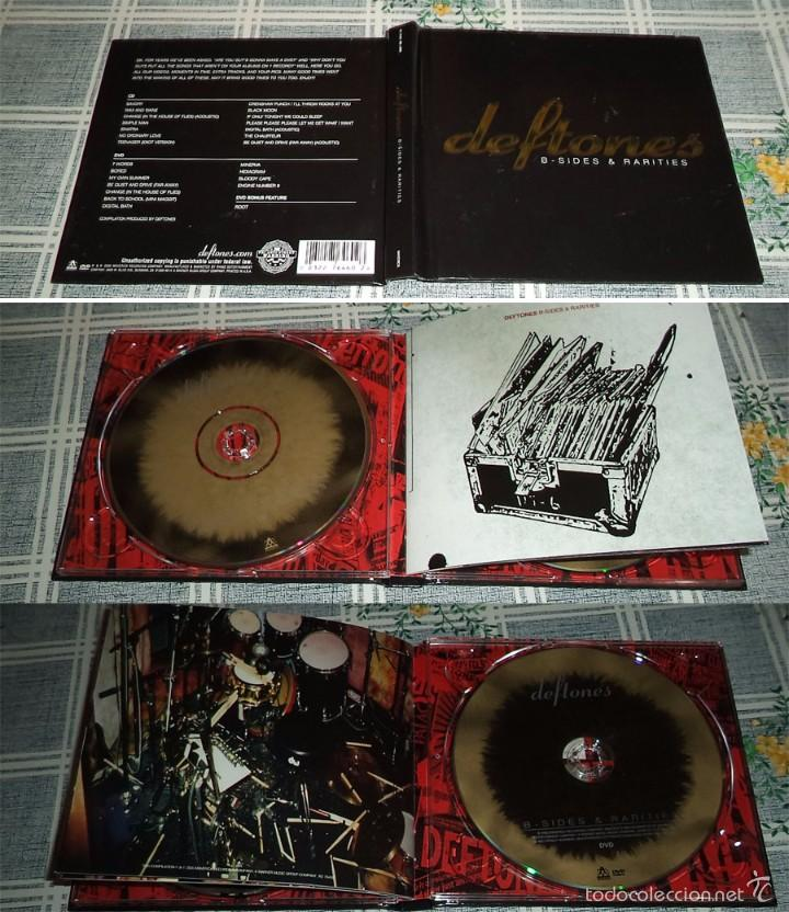 DEFTONES B - SIDES - RARITIES 1 CD + 1 DVD (Música - CD's Heavy Metal)