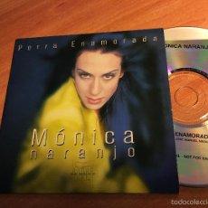 CDs de Música: MONICA NARANJO (PERRA ENAMORADA) CD PROMO 1 TRACK ESPAÑA 2000 (CDIB2). Lote 261268290