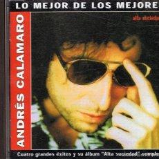 CDs de Música: CD ANDRES CALAMARO ¨ALTA SUCIEDAD¨. Lote 57632917