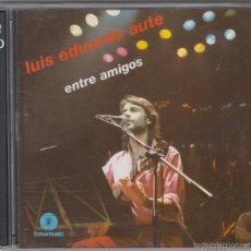 CDs de Música: LUIS EDUARDO AUTE DOBLE CD ENTRE AMIGOS 1997 FONOMUSIC. Lote 172100914