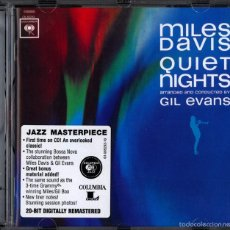 CDs de Música: MILES DAVIS - QUIET NIGHTS ARR. AND COND. BY GIL EVANS (JAZZ CD). Lote 57653560