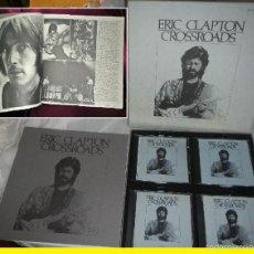 CDs de Música: ERIC CLAPTON - CROSSROADS !! COMPLETA CAJA, RAREZAS.72 TEMAS + LIBRETO 32 PG., ORG EDT USA, TODO EXC. Lote 93352849