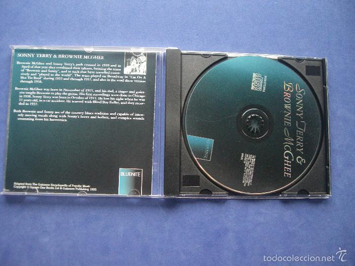 CDs de Música: SONNY JERRY & MCGHEE BLUENITE CD ALBUM PEPETO - Foto 2 - 57654919