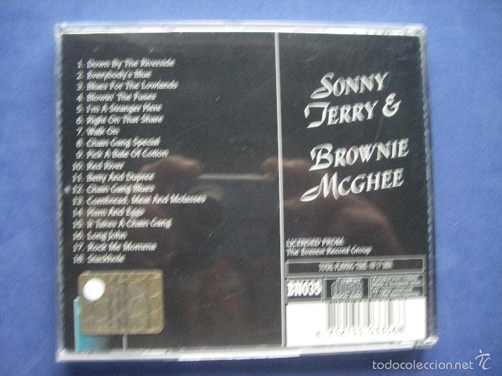 CDs de Música: SONNY JERRY & MCGHEE BLUENITE CD ALBUM PEPETO - Foto 3 - 57654919