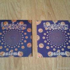 CDs de Música: 2 CD SINGLES SALOME BUNBURY HEROES DEL SILENCIO. Lote 57658757