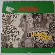 CDs de Música: ARRESTED DEVELOPMENT - UNITED FRONT / UNITED FRONT (NOISES IN MY ATTIC REMIX) (CD SINGLE PROMO 1994). Lote 57665911