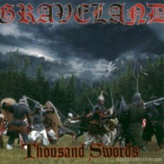 CDs de Música: GRAVELAND --THOUSAND SWORDS -EDICION DIGIPACK 1999. Lote 57668996