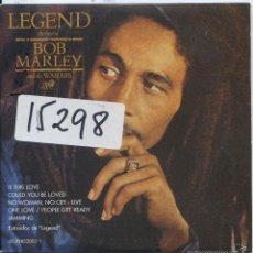 CD de Música: BOB MARLEY / IS THIS LOVE / NO WOMAN, NO CRY (LIVE) + 3 (CD SINGLE CARTON PROMO 2002). Lote 57692104