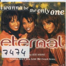 CDs de Música: THE ETERNAL / I WANNA BE THE ONLY ONE / DON'T YOU LOVE ME (CD SINGLE CARTON 1997). Lote 57699621
