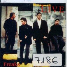 CDs de Música: FREAKS / LIVE (CD SINGLE CARTON PROMO 1997). Lote 57699746