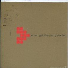 CDs de Música: JERREL / GET THIS PARTY STARTED (CD SINGLE CARTON 2004). Lote 57713293
