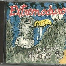 CDs de Música: EXTREMODURO. EN DIRECTO, MAQUETAS' 90 (CD ALBUM 1996). Lote 57714022
