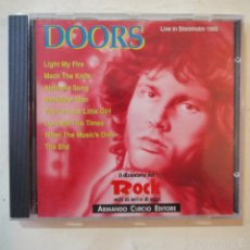 CDs de Música: DOORS - LIVE IN STOCKHOLM 1968 - CD 1991. Lote 57716418