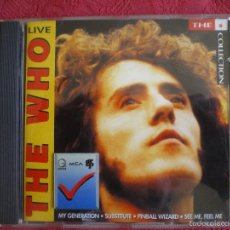 CDs de Música: THE WHO LIVE. THE * COLLECTION. MCA RECORDS 1991. CD. Lote 57724886