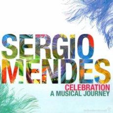 CDs de Música: DOBLE CD ALBUM: SERGIO MENDES - CELEBRATION, A MUSICAL JOURNEY - CD 38 TRACKS - UNIVERSAL MUSIC 2011. Lote 57725874