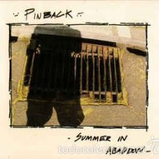 CDs de Música: PINBACK-SUMMER IN ABADDON -INDIE ROCK TOUCH AND GO RECORDS. Lote 57726528
