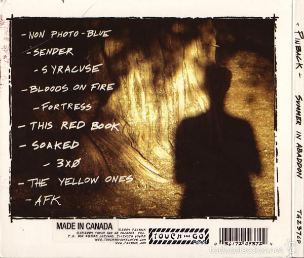 CDs de Música: Pinback-Summer In Abaddon -indie rock touch and go records - Foto 2 - 57726528