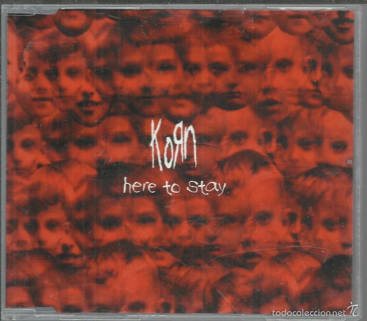 KORN - HERE TO STAY - CD SINGLE EPIC 2002 PROMO (Música - CD's Heavy Metal)