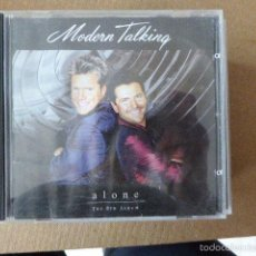 CDs de Música: MODERN TALKING ALONE. 17 TEMAS. Lote 57730020