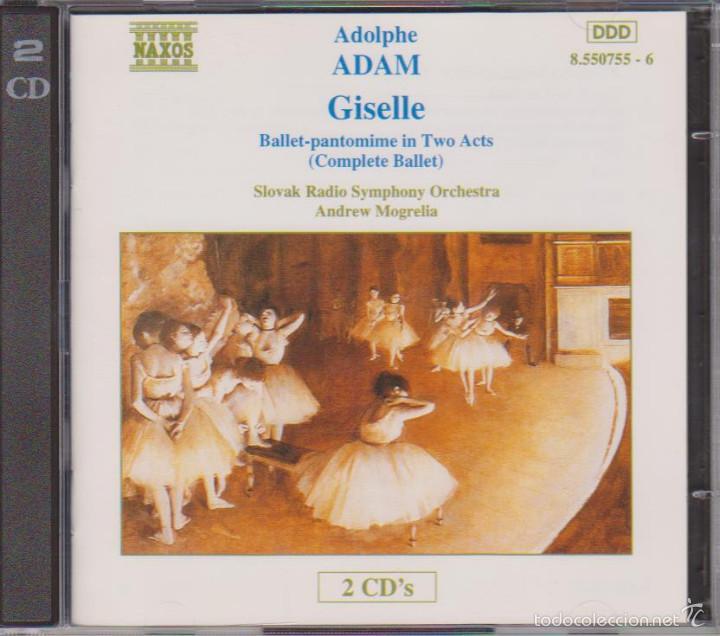 ADOLPHE ADAM - GISELLE OU LES WILIS - BALLET - SLOVAK RADIO SYMPHONY ORCHESTRA - ANDREW MOGRELIA (Música - CD's Clásica, Ópera, Zarzuela y Marchas)