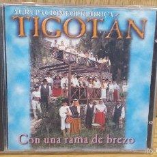 CDs de Música: AGRUPACIÓN FOLKLÓRICA TIGOTÁN. CON UNA RAMA DE BREZO. CD / MULTITRACK RECORDS- 10 TEMAS / LUJO.. Lote 57748081