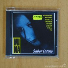 CDs de Música: MINA - SABOR LATINO - CD. Lote 57763588