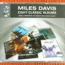 Music CDs - MILES DAVIS - EIGHT CLASSIC ALBUMS 4 CD set Precintado - 57771656